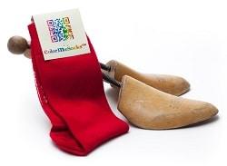 colormesocks - Rode sokken