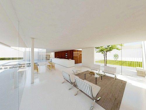 Moderne bungalow architectuur | 123DV Moderne villa's